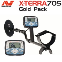 Minelab X-terra 705 Special GOLD package